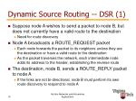 dynamic source routing dsr 1