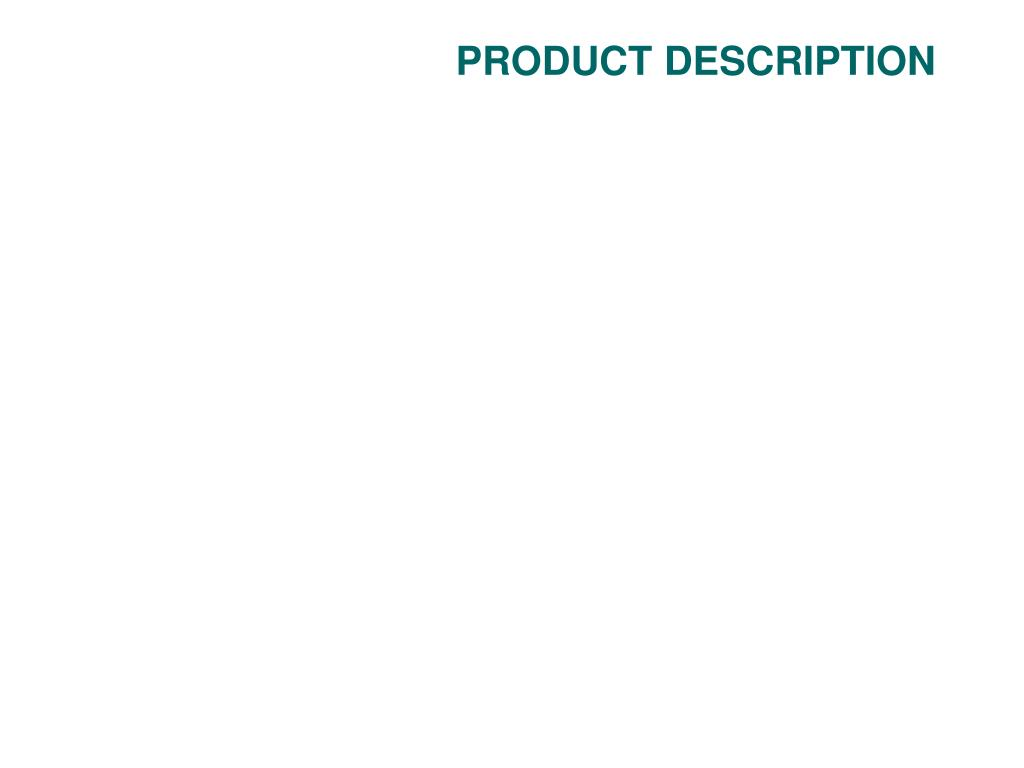 product description l.