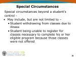 special circumstances55