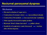 nocturnal paroxysmal dyspnea25