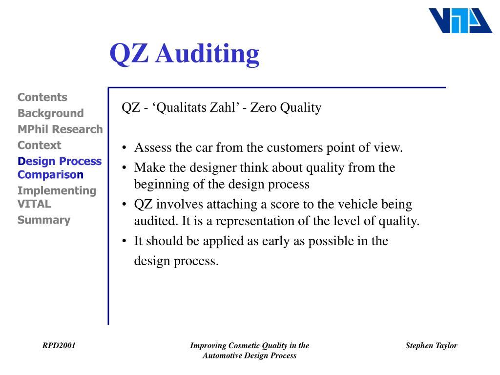 QZ Auditing