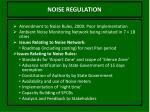 noise regulation