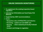 online emission monitoring