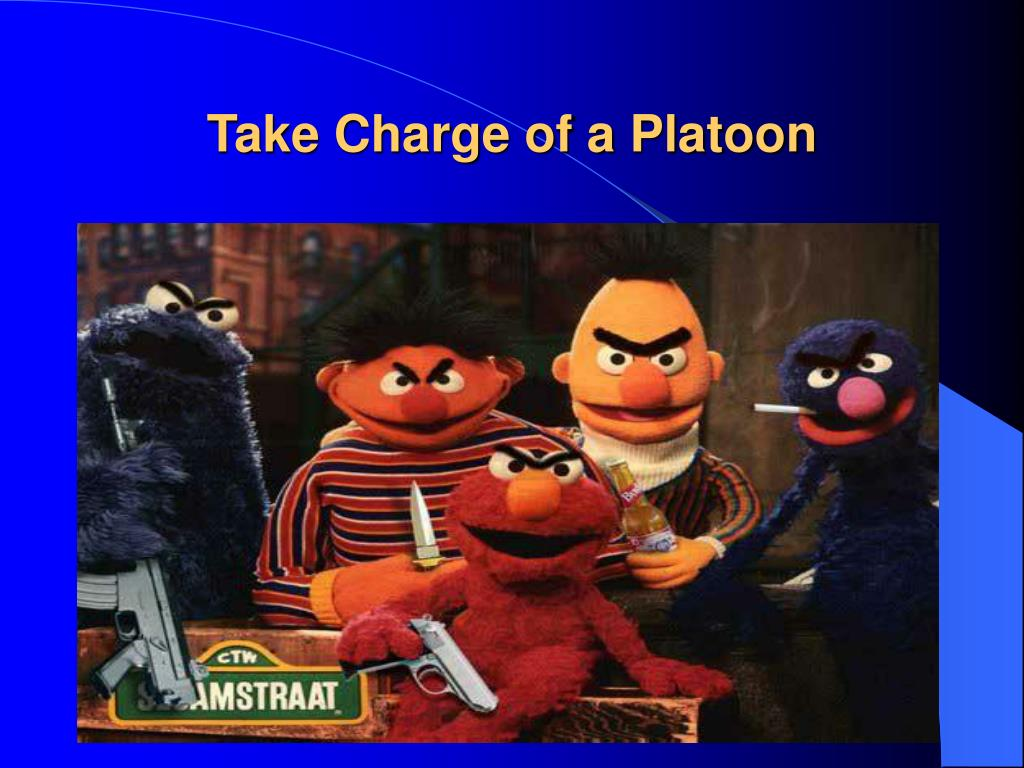 take charge of a platoon l.
