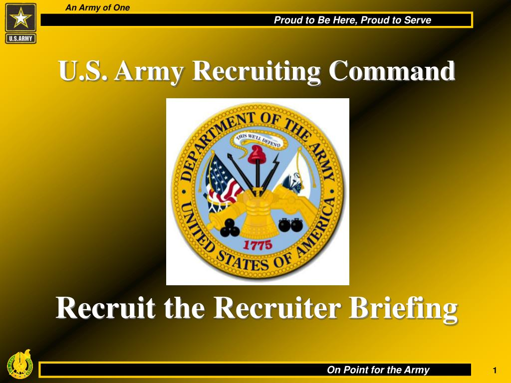 u s army recruiting command l.