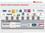 build to order customer references