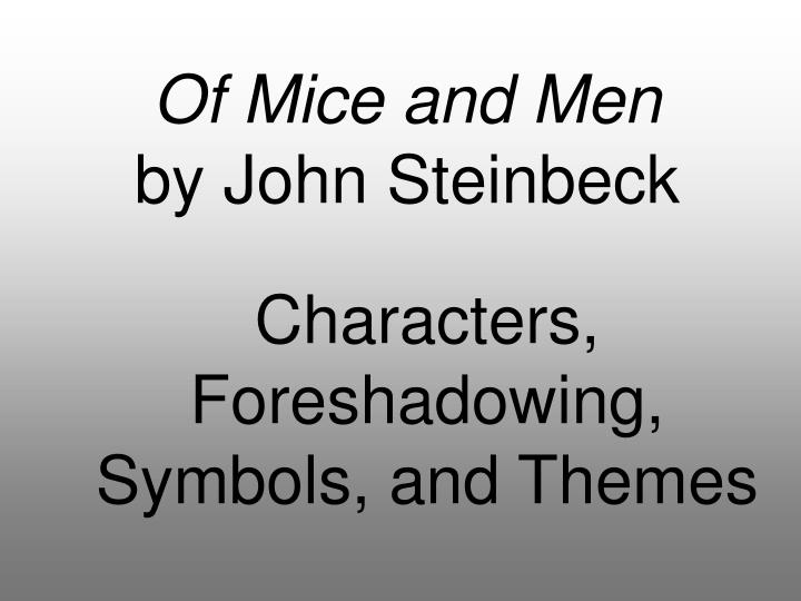 hopes and dreams in of mice and men by john steinbeck