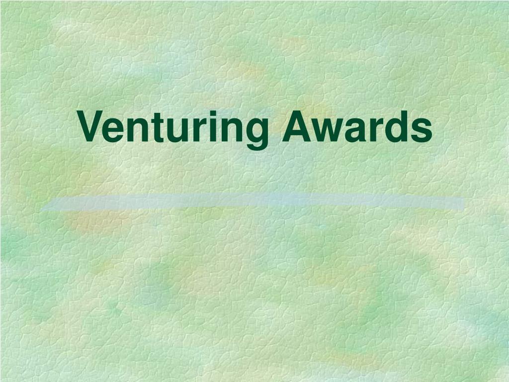 venturing awards l.