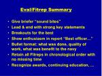 eval fitrep summary27