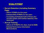 eval fitrep25