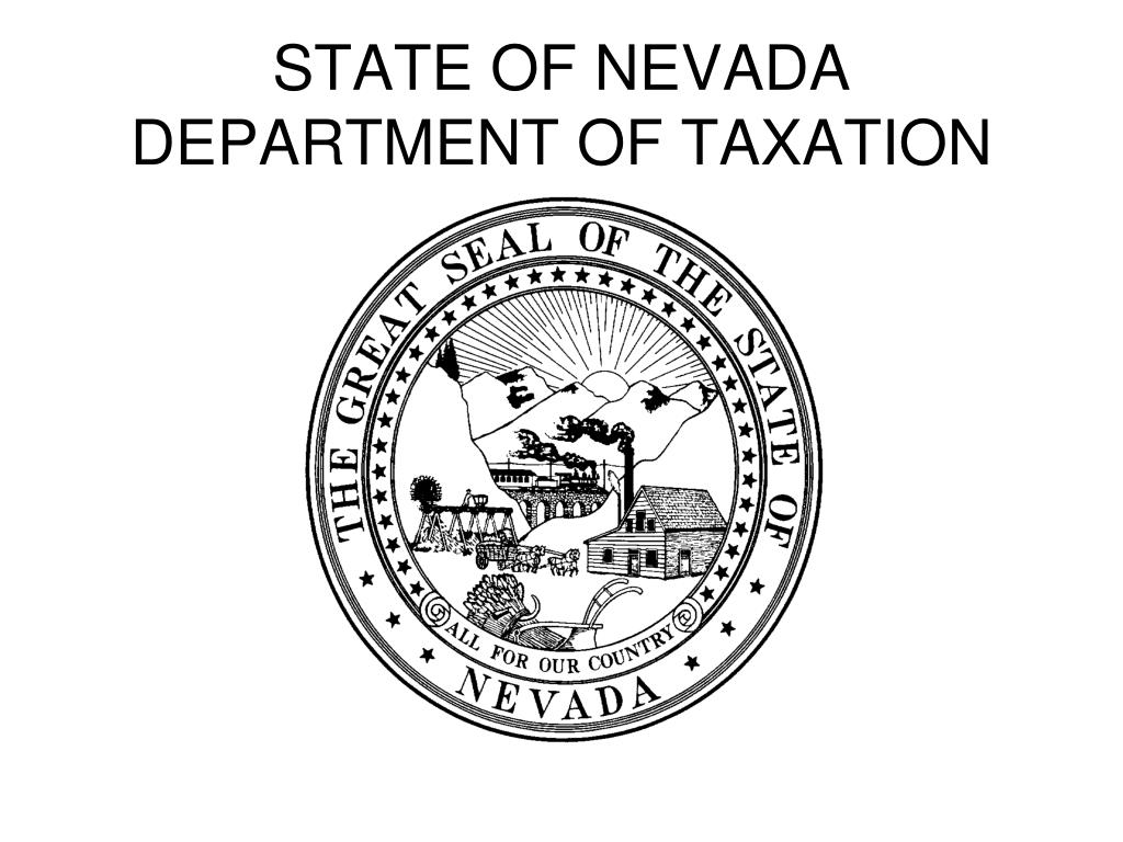 state of nevada department of taxation l.