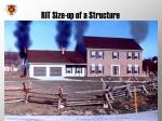rit size up of a structure