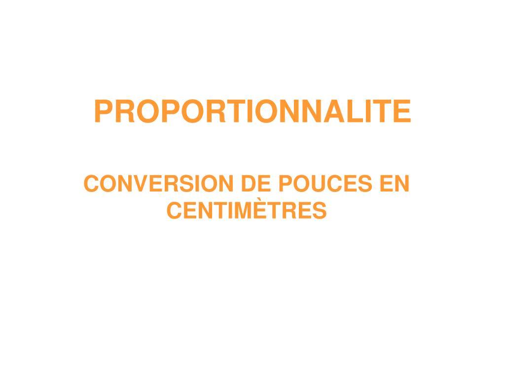 proportionnalite l.