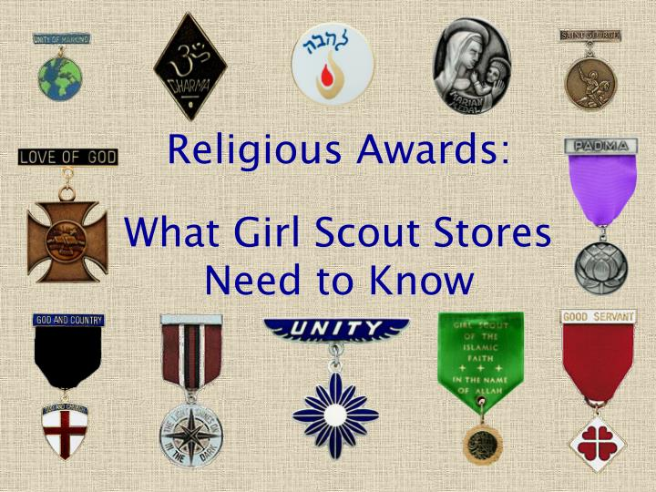 religious awards what girl scout stores need to know n.