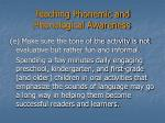 teaching phonemic and phonological awareness23