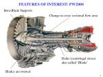 features of interest pw2000