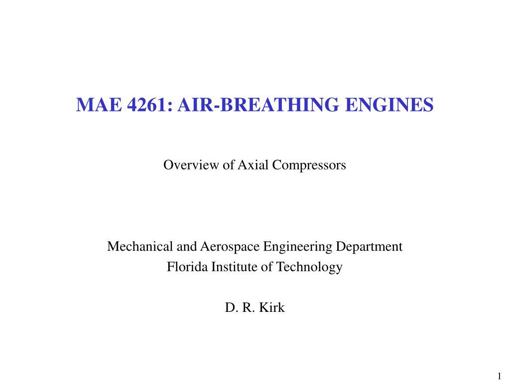 mae 4261 air breathing engines l.
