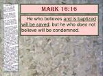 mark 16 16