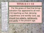 titus 2 11 12