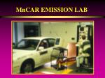 mncar emission lab