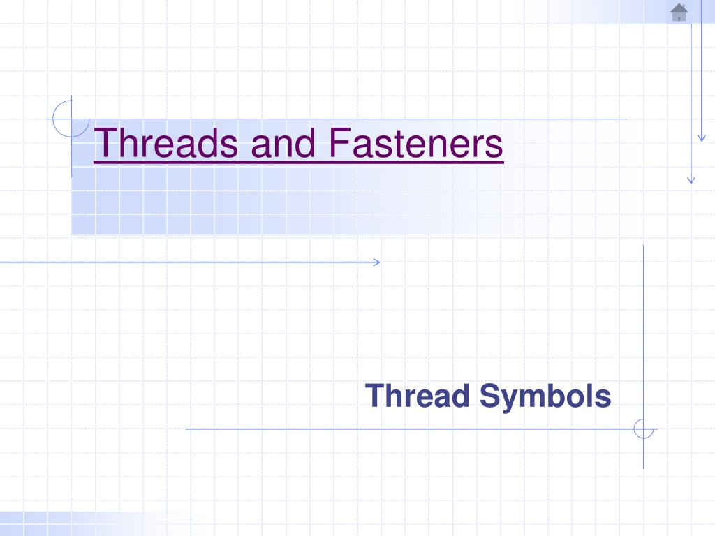 threads and fasteners l.