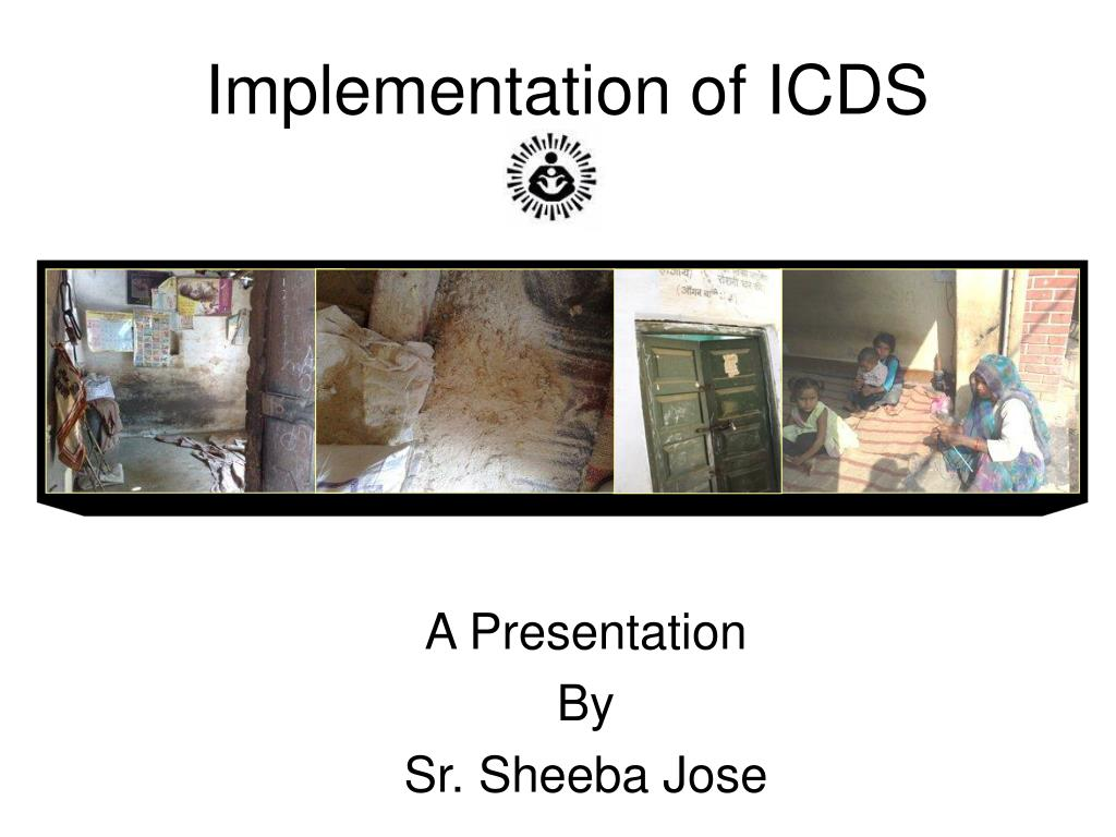 implementation of icds l.