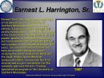 earnest l harrington sr