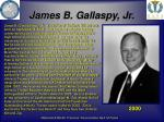 james b gallaspy jr