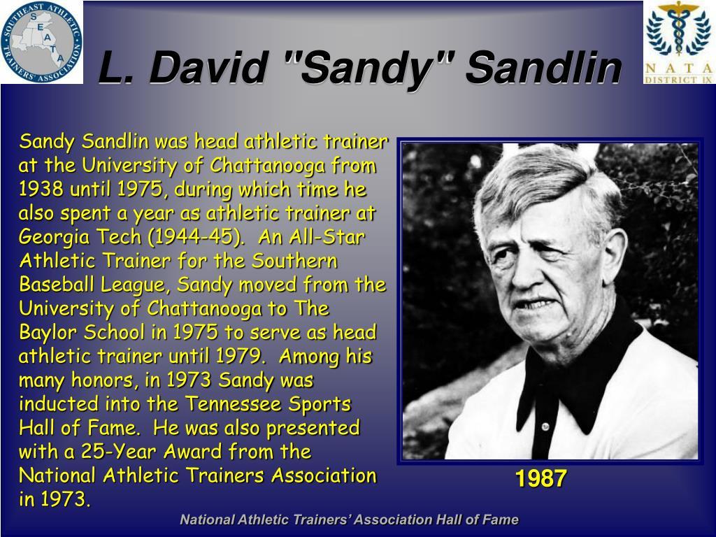 "L. David ""Sandy"" Sandlin"