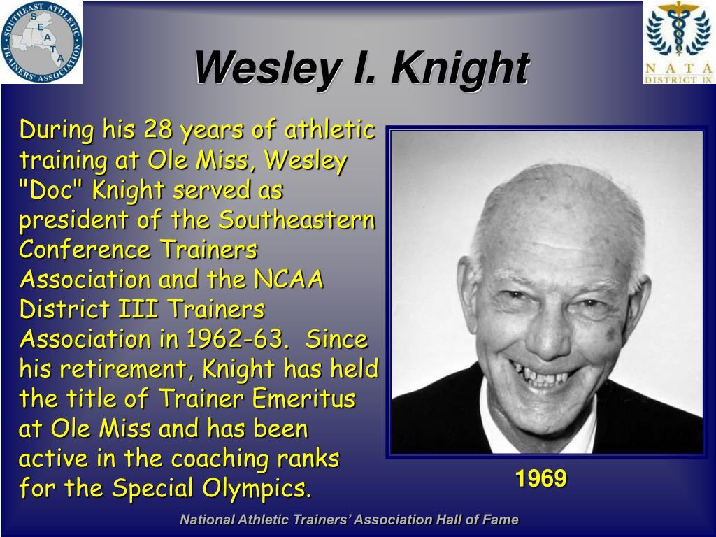 Wesley I. Knight