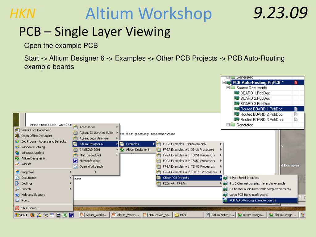 PPT - Basic Altium Workshop PowerPoint Presentation - ID:182779