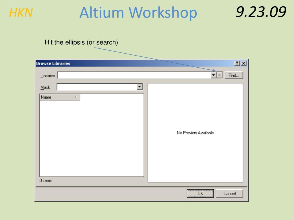 PPT - Basic Altium Workshop PowerPoint Presentation - ID:182779