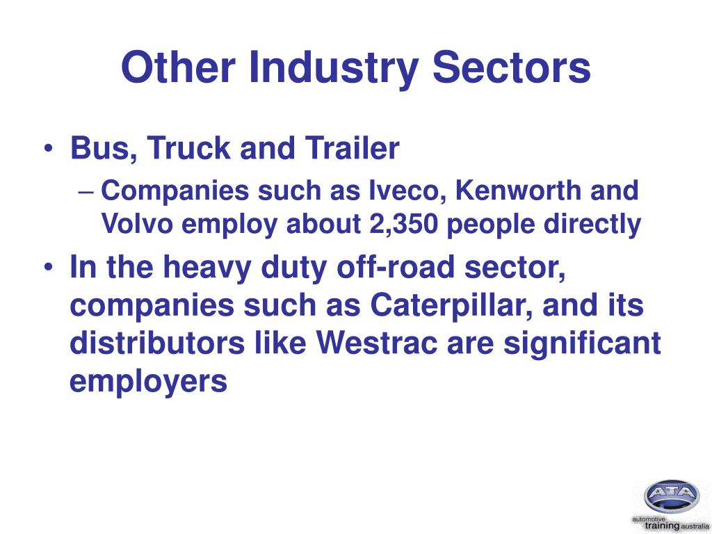 Other Industry Sectors