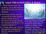 angels talk to each other daniel