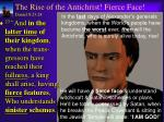 the rise of the antichrist fierce face daniel 8 23 24