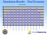 simulation results fuel economy