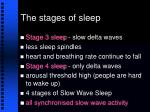 the stages of sleep11