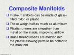 composite manifolds