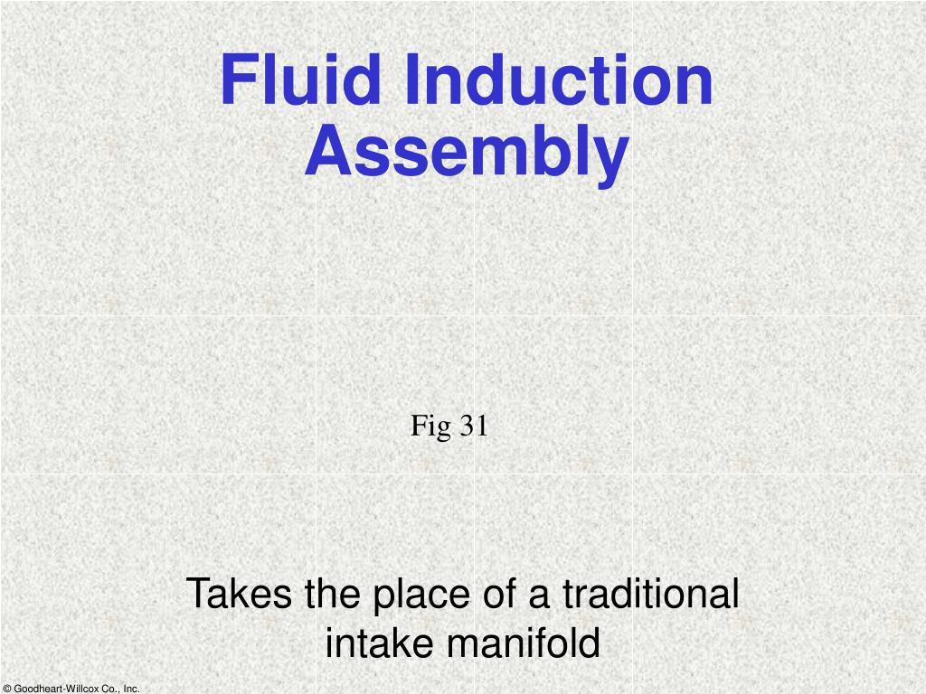 Fluid Induction Assembly