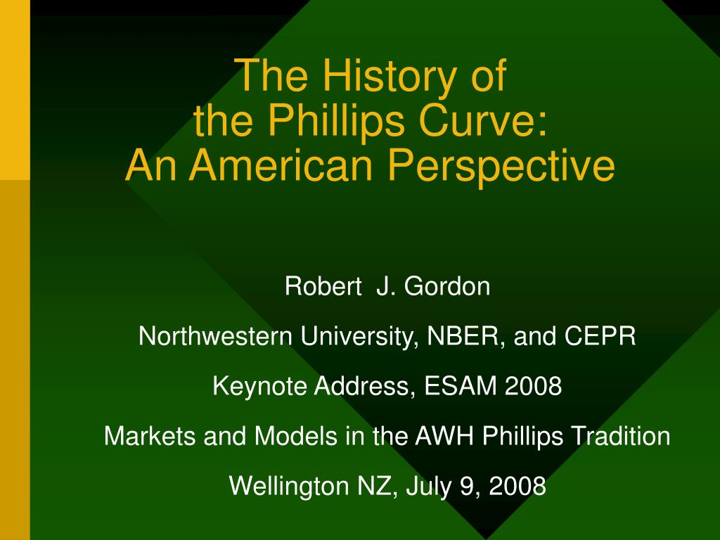 the history of the phillips curve an american perspective l.