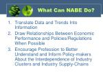 what can nabe do