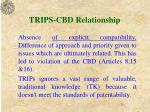 trips cbd relationship