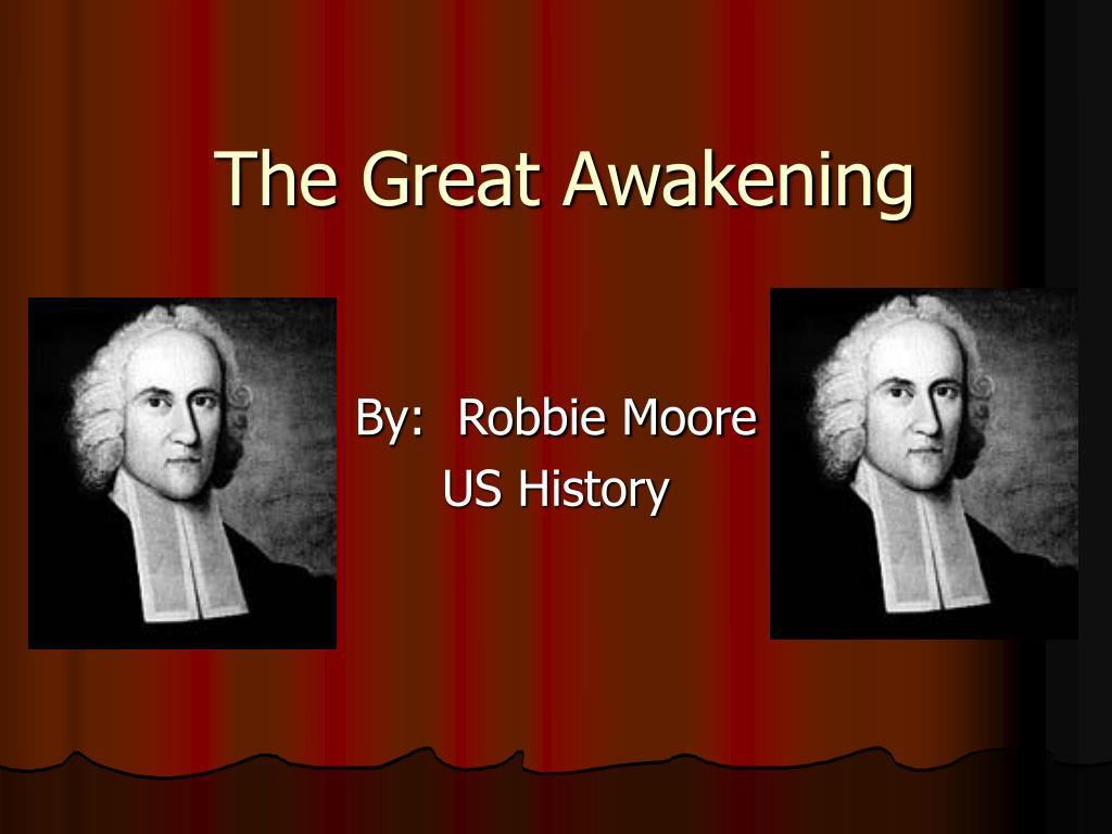 the great awakening l.