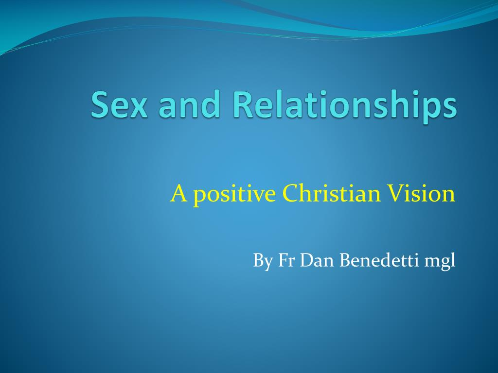 sex and relationships l.