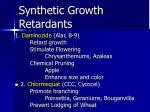 synthetic growth retardants