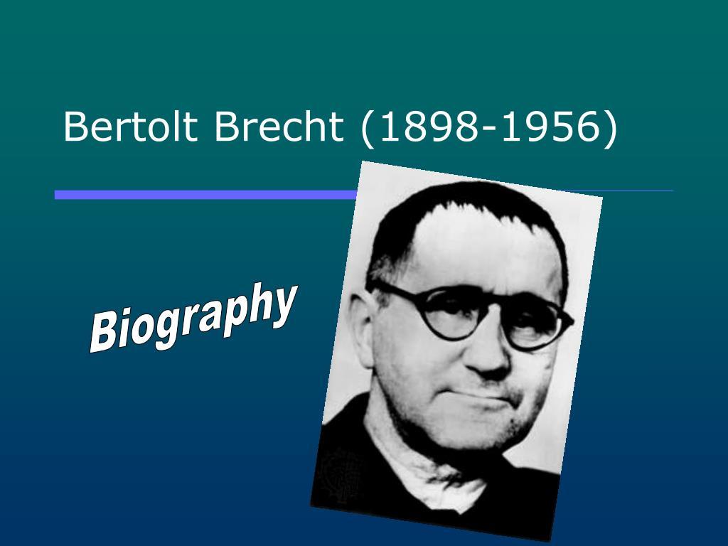 bertolt brecht 1898 1956 l.