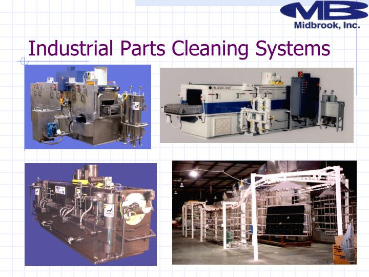 Industrial Parts Cleaning Systems
