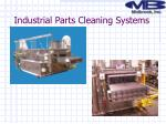 industrial parts cleaning systems1