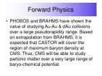 forward physics43