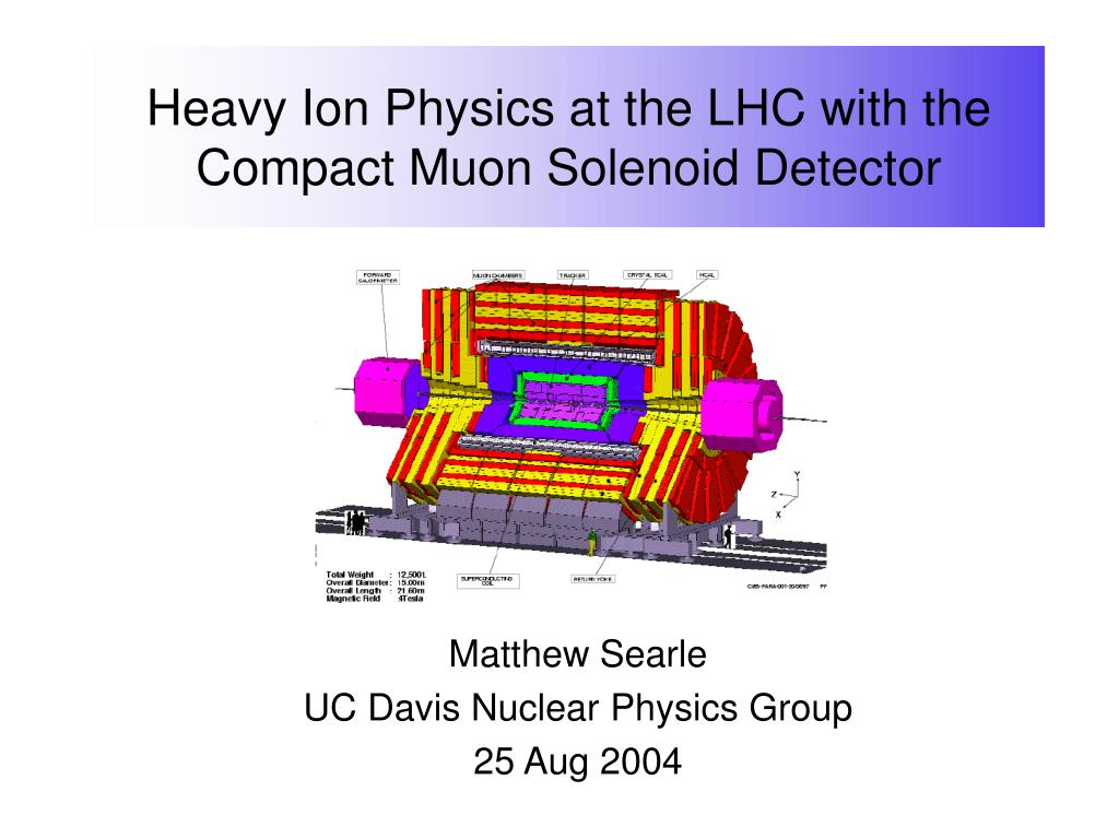 heavy ion physics at the lhc with the compact muon solenoid detector l.